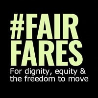 #FairFares for dignity equity & the freedom to move