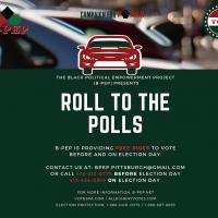 B-PEP Roll to the Polls info