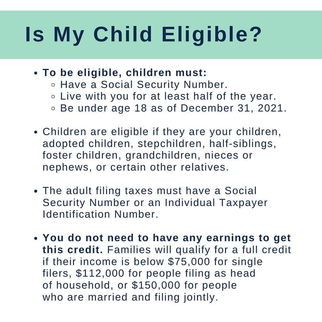 Is my child eligible? (Child Tax Credit eligibility criteria)