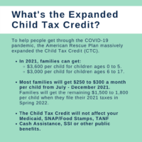 What's the Expanded Child Tax Credit?