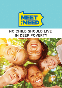 Meet the Need PA: No Child Should Live in Deep Poverty (report cover)