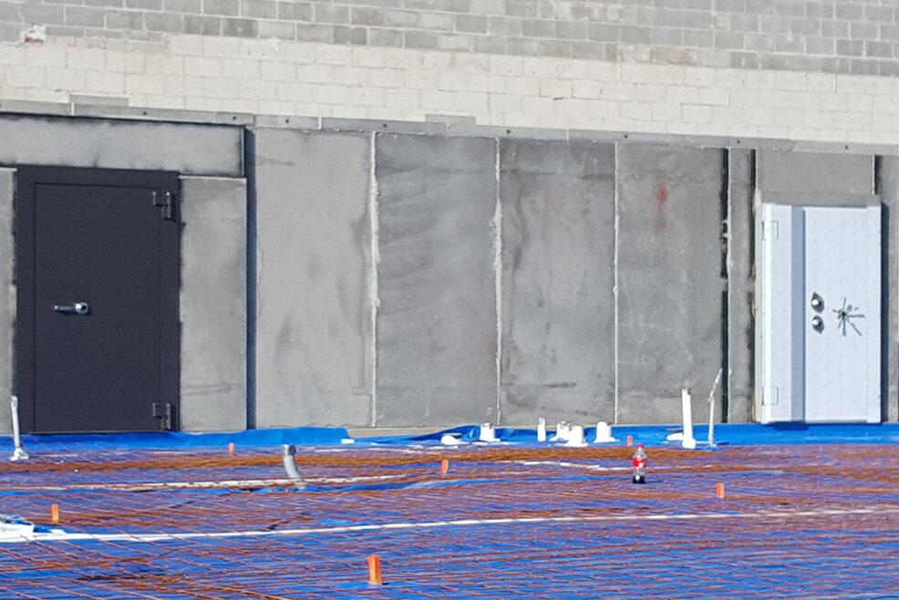 Bank Vault Construction