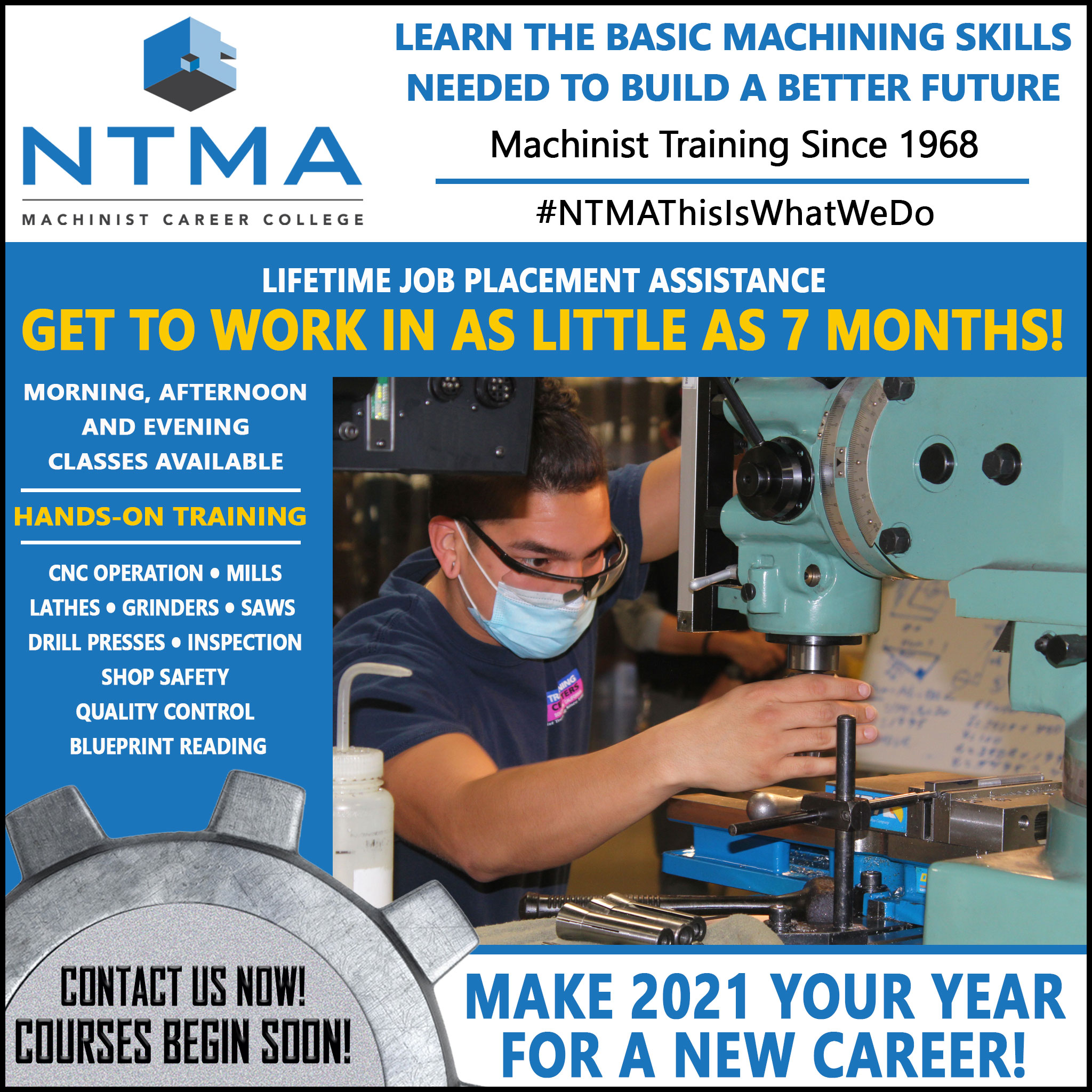Machinist Training Overview