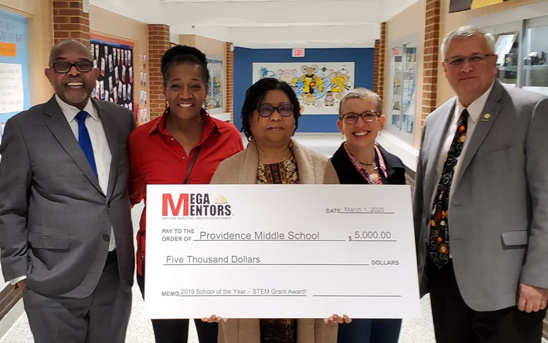 Providence MS receives award, recognition