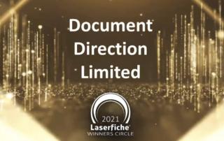DDL - Laserfiche Winners Circle 2020-2021