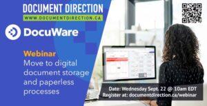 DDL DocuWare webinar September 22, 2021 at 10am EDT