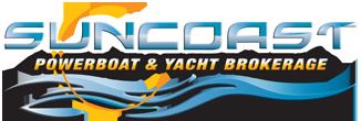 Suncoast powerboat and yacht brokerage logo