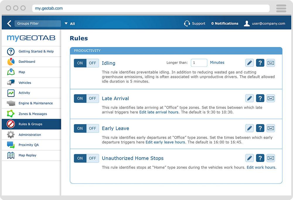 Create Custom Rules Software