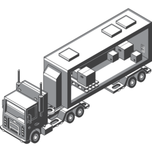 white glove  service moving truck