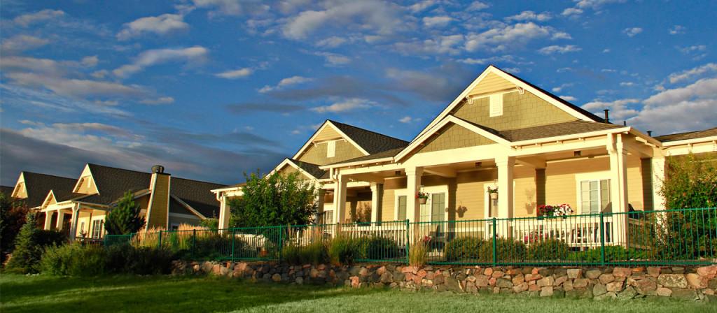 Sunrise on cottage homes Denver senior living