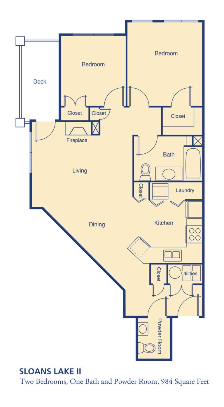 maps-and-floorplans-APT two bed Sloans Lake II-1920