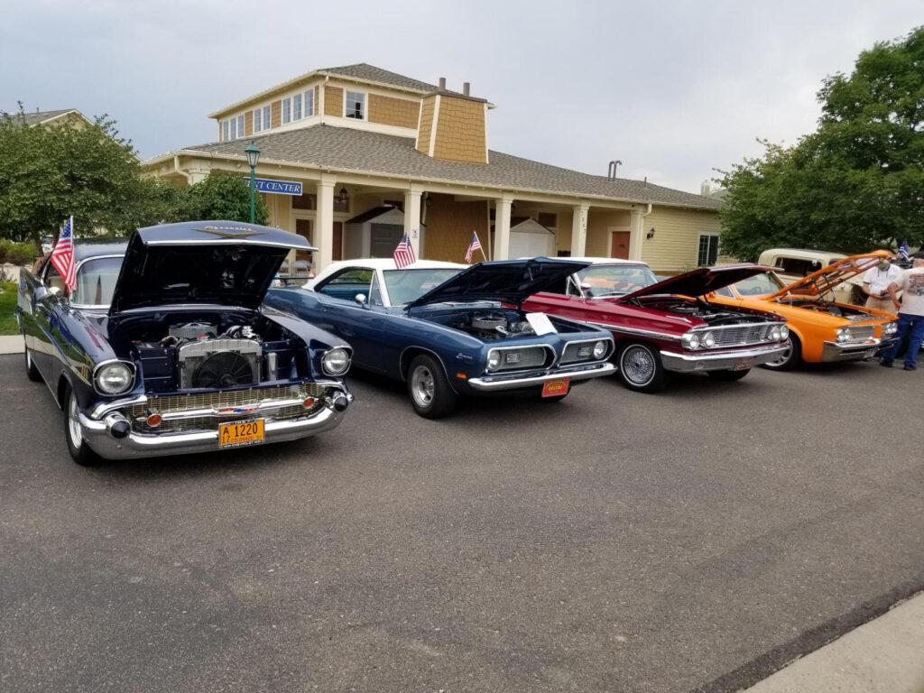 Car Show Concordia, vintage, retro, retirement living, active senior living