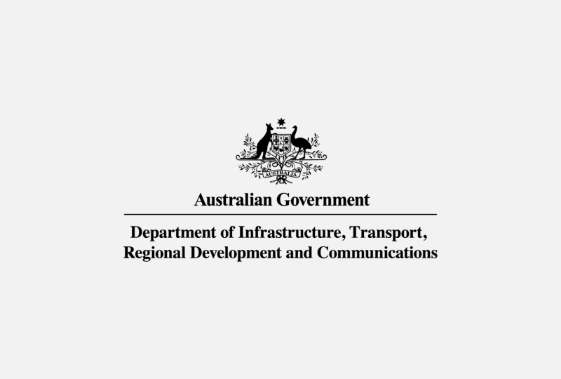 C Department of Infrastructure, Transport, Regional Development and Communications