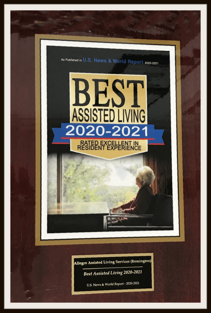 best awarded assisted living 2021
