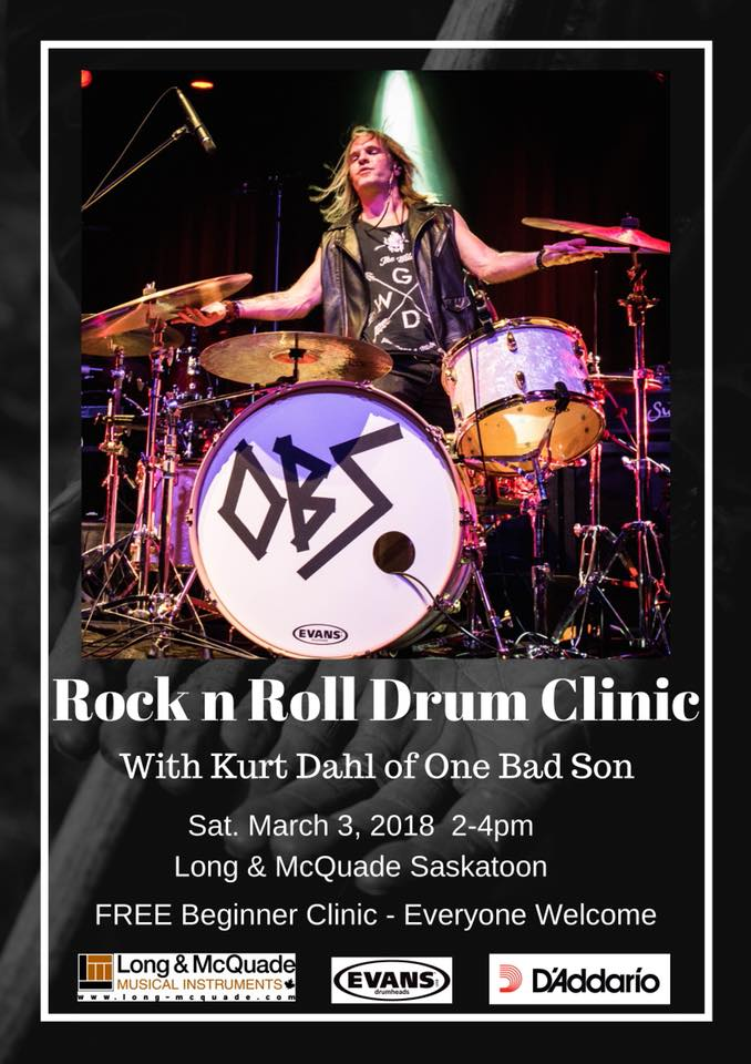 My First Drum Clinic