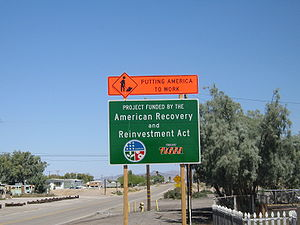 American Recovery and Reinvestment Act constru...