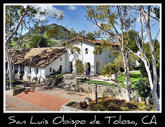 San Luis Obispo de Tolosa Mission, CA