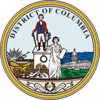 Seal of the District of Columbia.