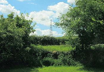 English: The Penmynydd high-speed broadband tr...