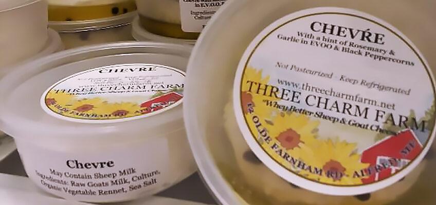 three charm farm cheese