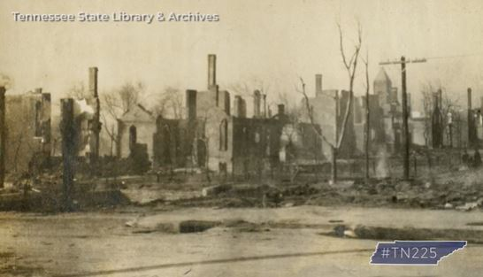 'A tornado of flames': A look back at the Great East Nashville Fire of 1916
