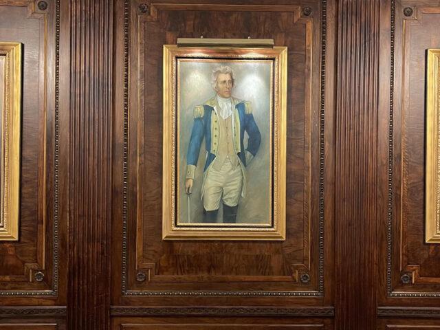 Three Stars – Presidents Andrew Jackson, James K. Polk and Andrew Johnson