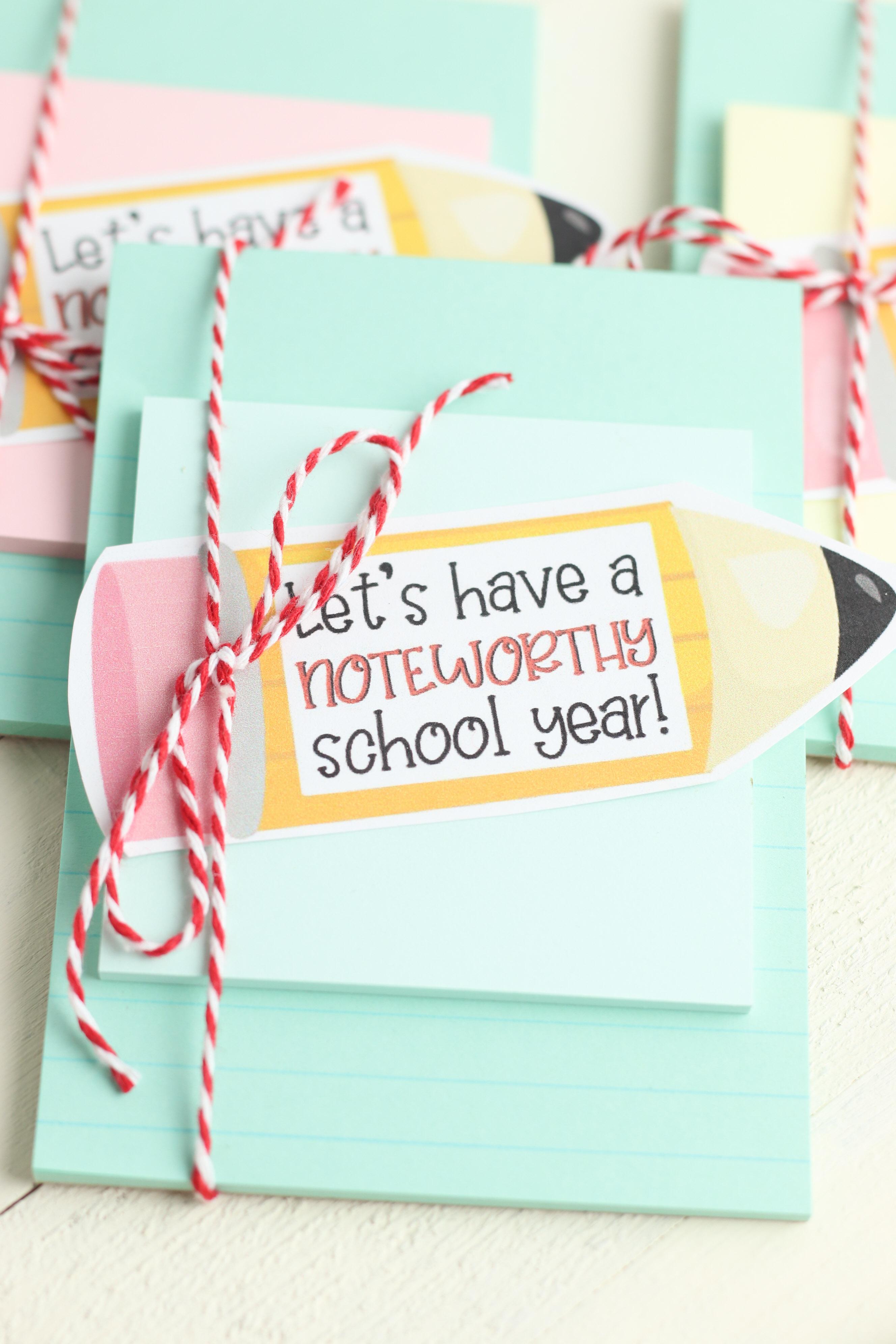 Notebook Teachers Gift