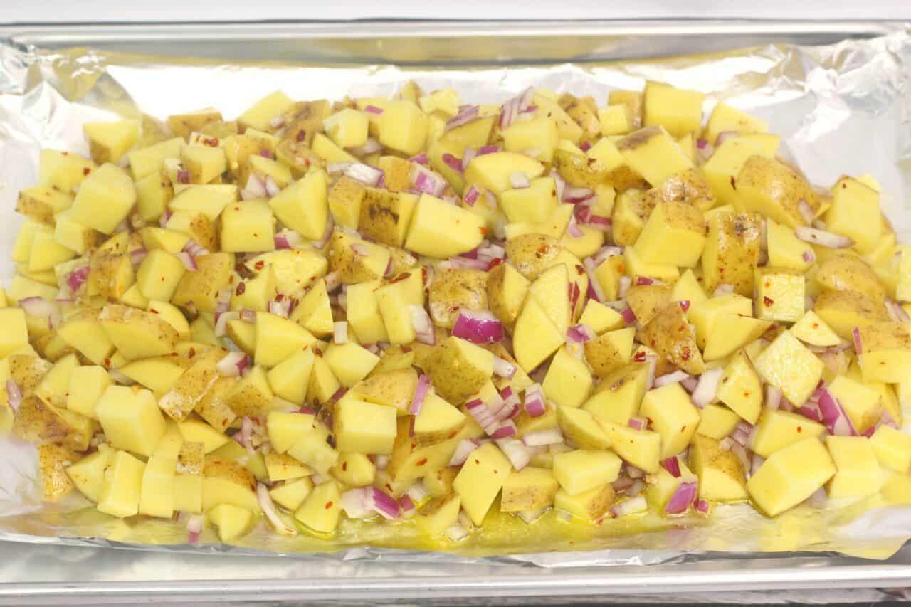 Grilled Cuban Mojo Potatoes