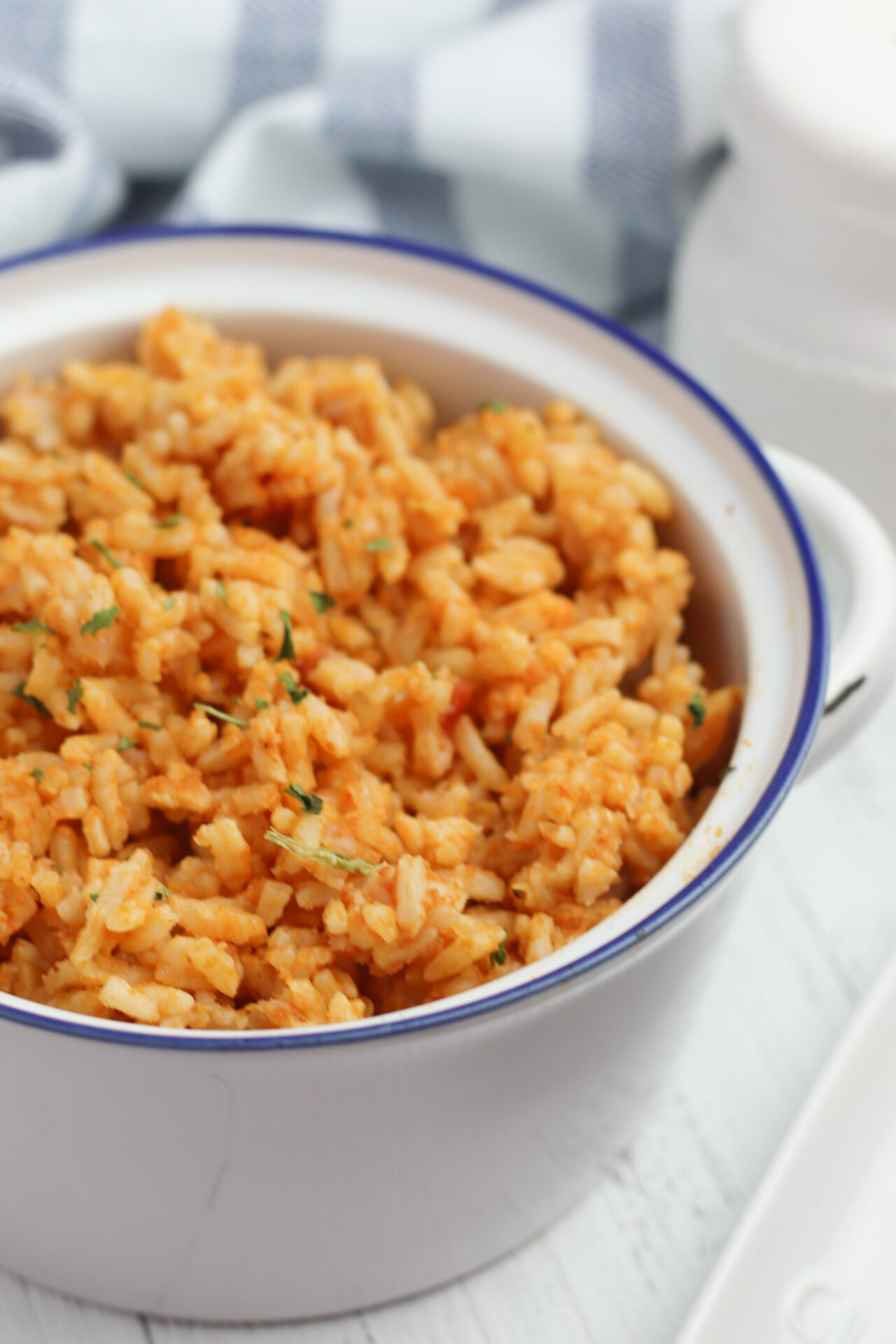 Mexican Rice in bowl