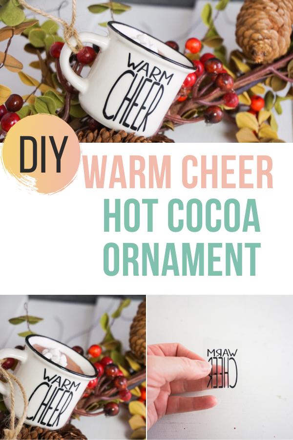 Warm Cheer Hot Cocoa Ornament