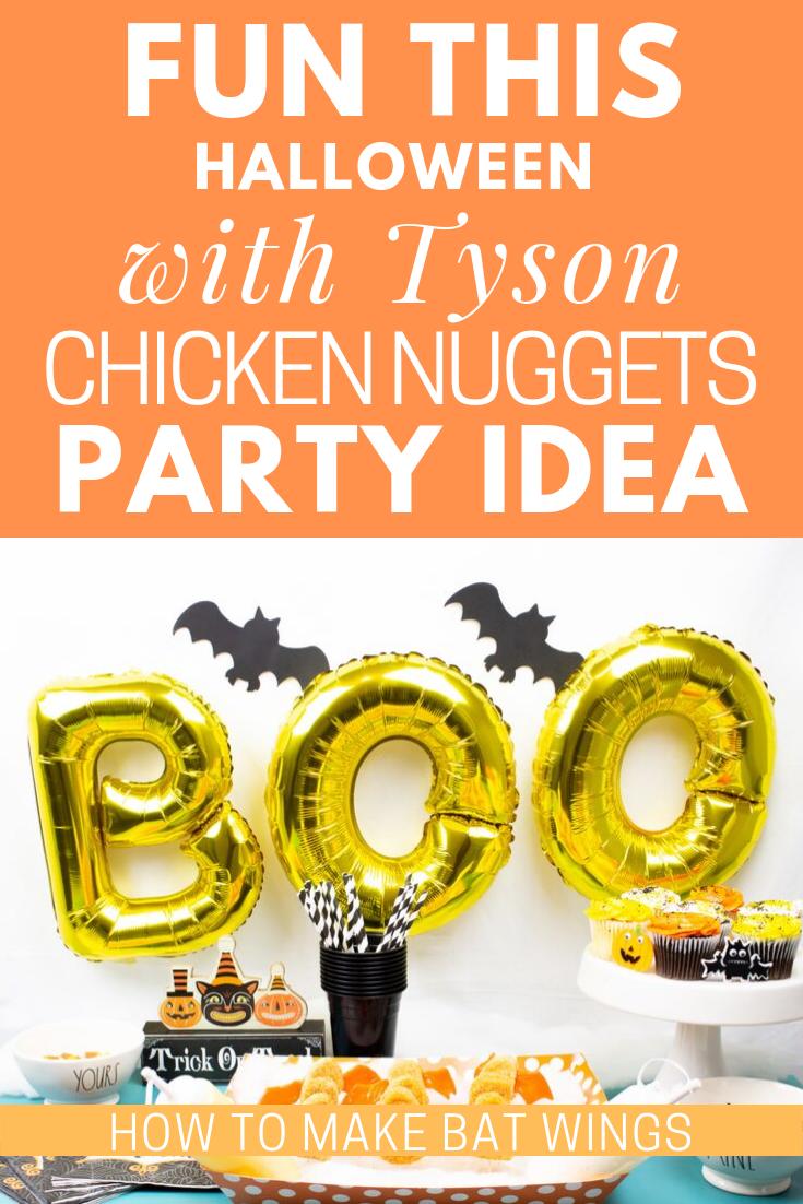 Halloween With Tyson Chicken Nuggets