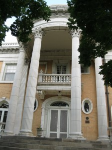 The historic Grant-Humphreys mansion in Denver's Quality Hill neighborhood.