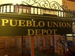 The train station is just one of the many beautiful and historic things to see in the intriguing city of Pueblo!