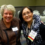 Raeleen with Dorothy Kittaka. Dorothy is a singer, music educator and Raeleen's former vocal coach during their Naperville Central High School days.