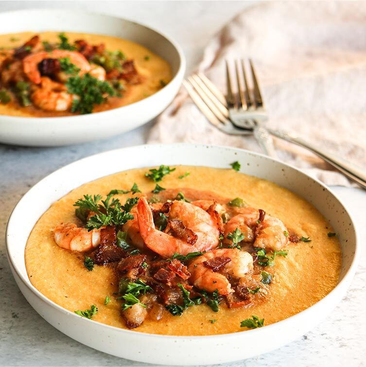 Shrimp & Grits Portrait