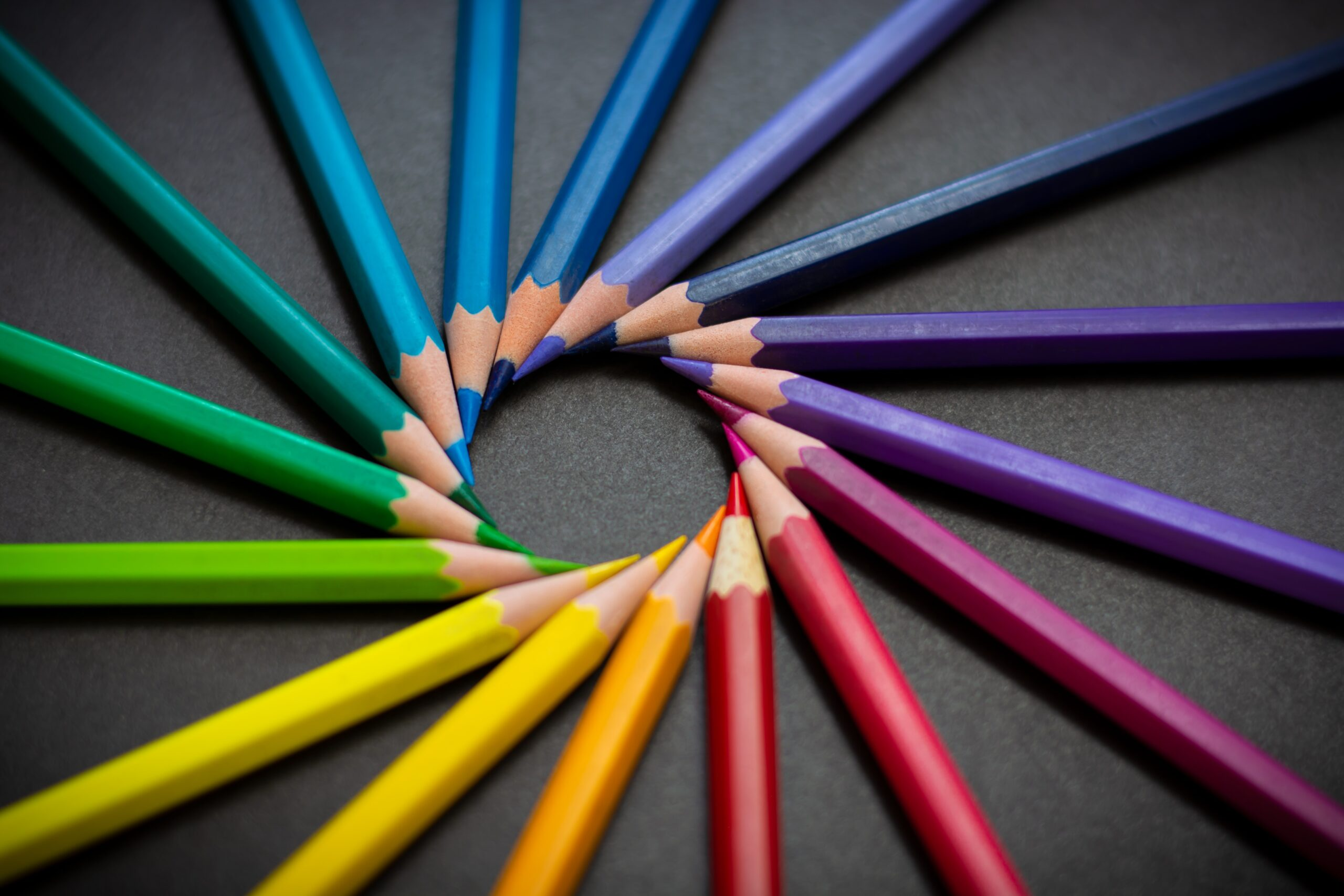 Image of color pencils