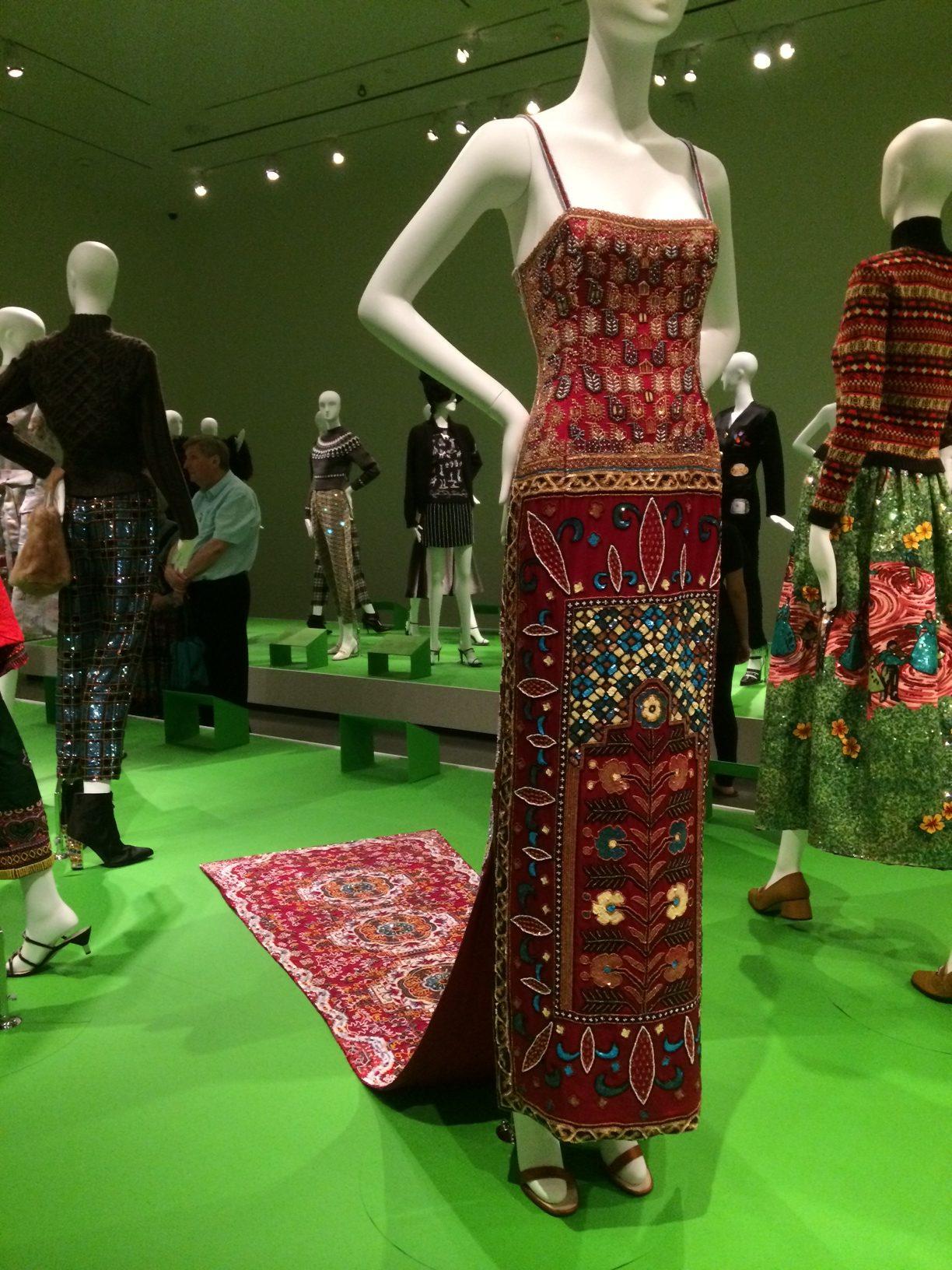 Todd Oldham's Magic Carpet Dress