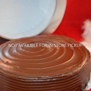 Deep Dark Chocolate Cake for Shipping