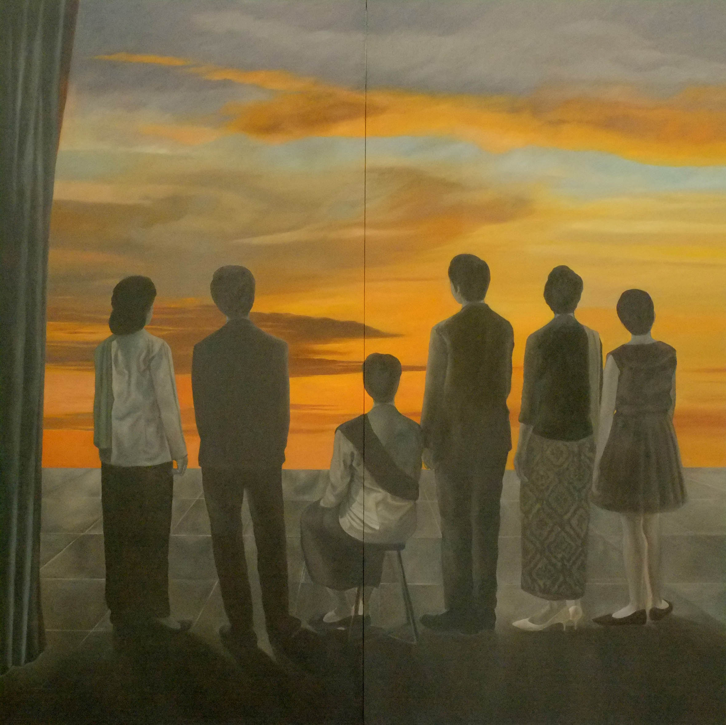 You Know What I Feel_Oil on Canvas_300 x 300 cm_2014