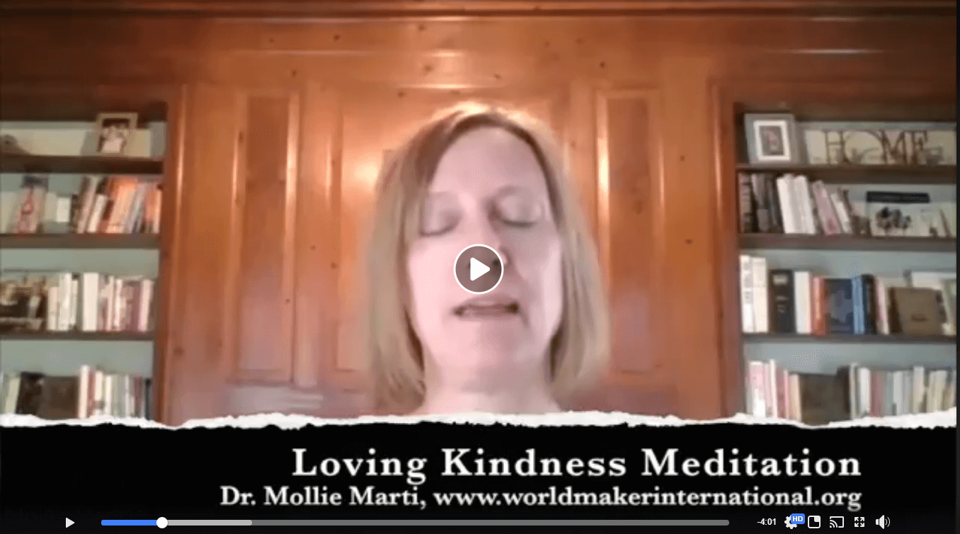 Overheard in the THRIVE Coffeehouse : Loving Kindness Meditation