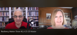 """Resiliency Matters - Dr. Mollie Marti with guest Bob Burg, co-author of """"The Go-Giver"""""""