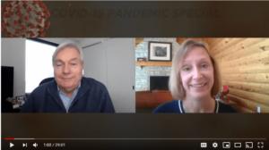 Resiliency Matters TV - Dr. Mollie Marti with pandemic expert Dr. Michael Osterholm, Dir of CIDRAP