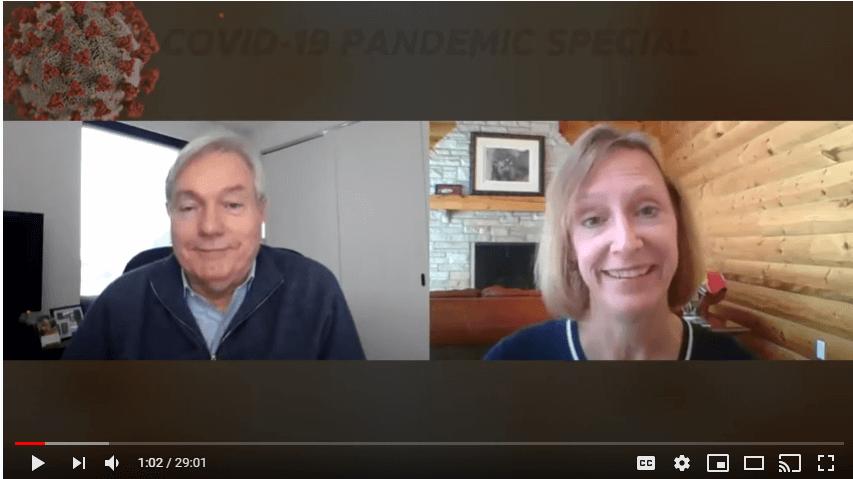 Resiliency Matters – Dr. Mollie Marti with pandemic expert Dr. Michael Osterholm, Dir of CIDRAP