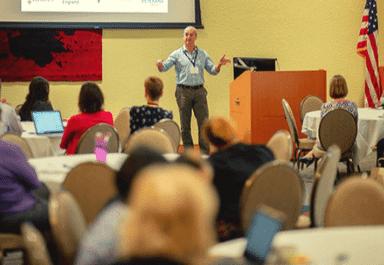 David Richmond leading resiliency training
