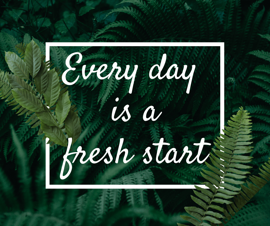 3 Tips for Making a Fresh Start