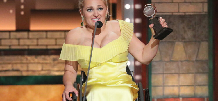 History Making Tony Award Winner Ali Stroker
