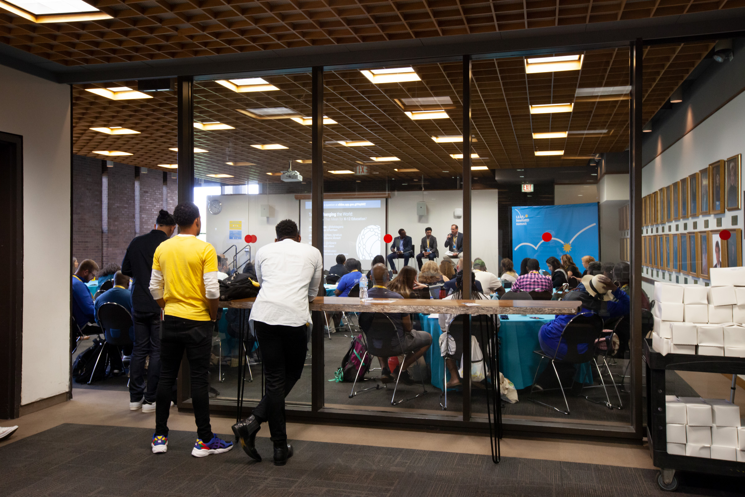 2019 LEAP InnovatED Summit at UIC Student Center East for Kym Abrams Design