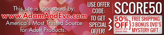 50% OFF with Offer Code SCORE50 at Adam & Eve