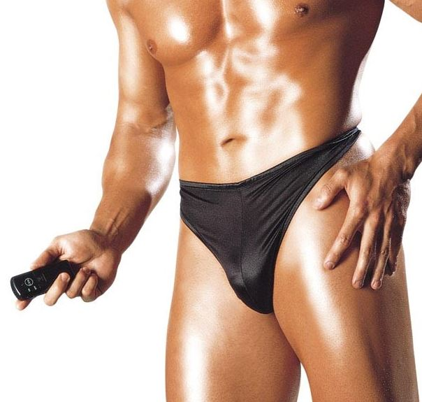 Vibrating Wireless Thong For Him, remote controlled vibe