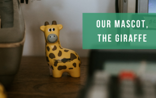 our mascot the giraffe